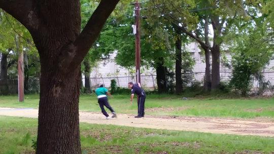 charleston south carolina police officer shoots black man