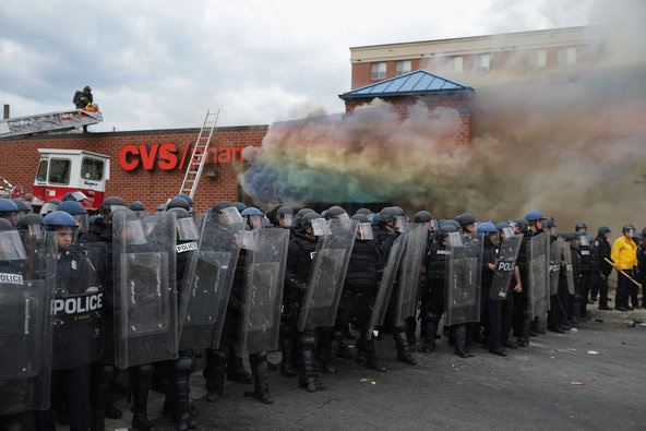 gay marriage caused cause baltimore riots rainbow chemtrails